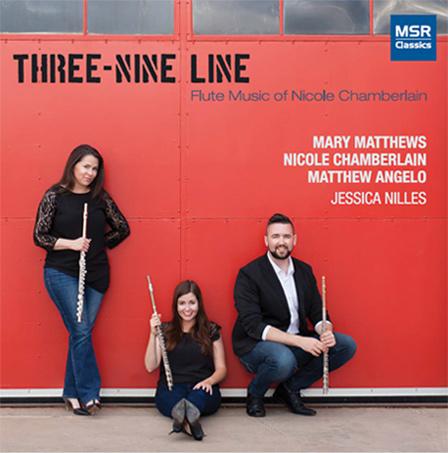 Three-Nine Line: Flute Music of Nicole Chamberlain