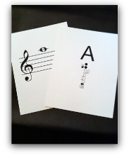 Flute Flash Cards