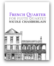 French Quarter for flute quartet
