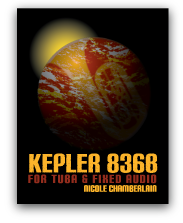 Kepler 836b for tuba and fixed audio