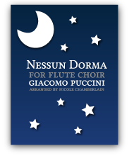Nessun Dorma from Turandot for flute choir