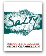 Salty for flute and clarinet