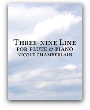 Three-NineLine for flute and piano