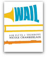 Wail for flute and trombone