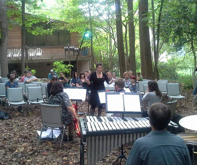 Conducting premiere of Watersheds